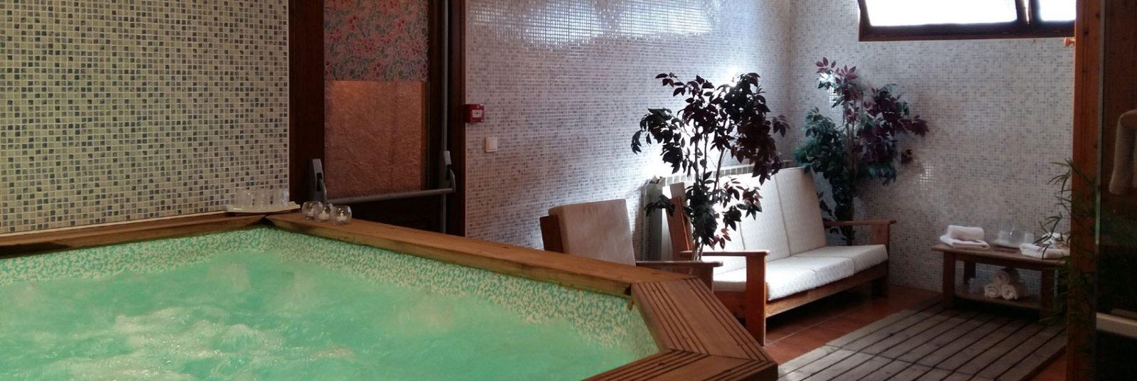 Hôtel Spa avec jacuzzi, sauna et hammam