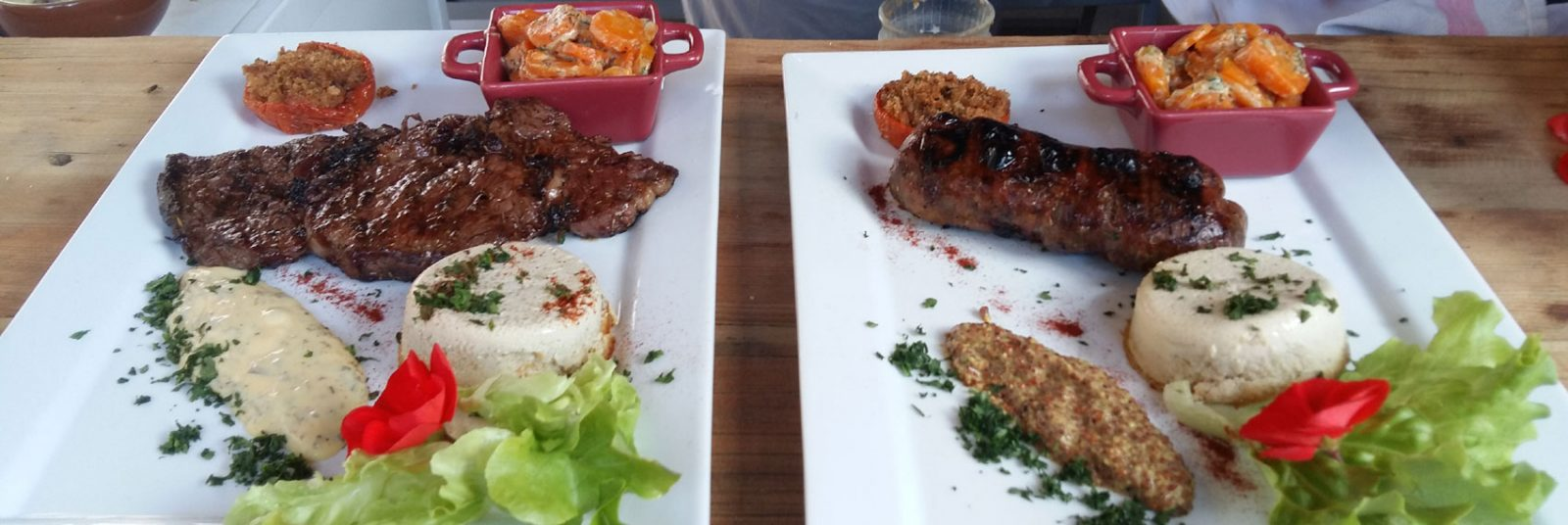 Restaurant dans l'hôtel à Puy St Vincent