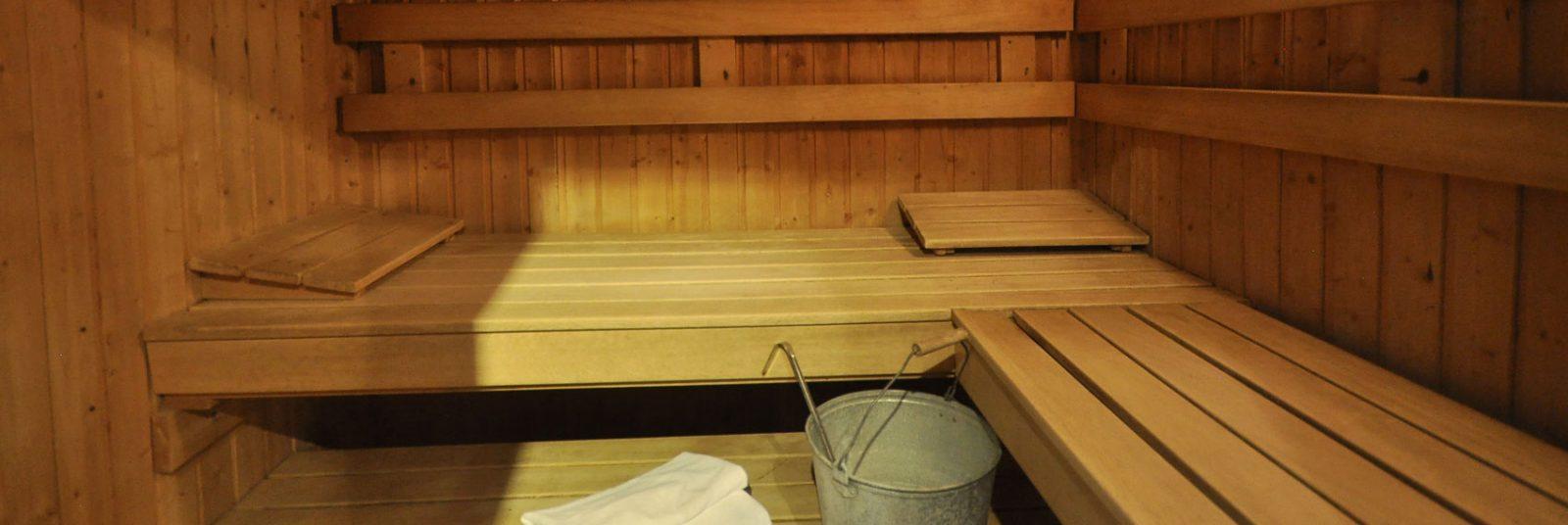 Sauna dans l'Hôtel Spa