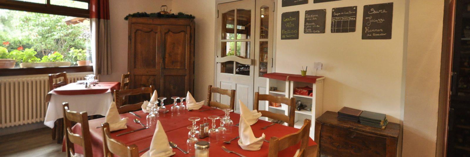 Hotel l'Aiglière, restaurant