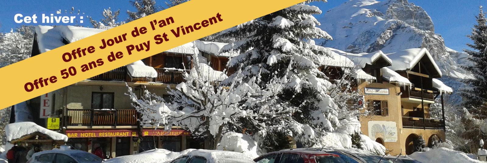 Offre jour de l'an hotel Puy St Vincent