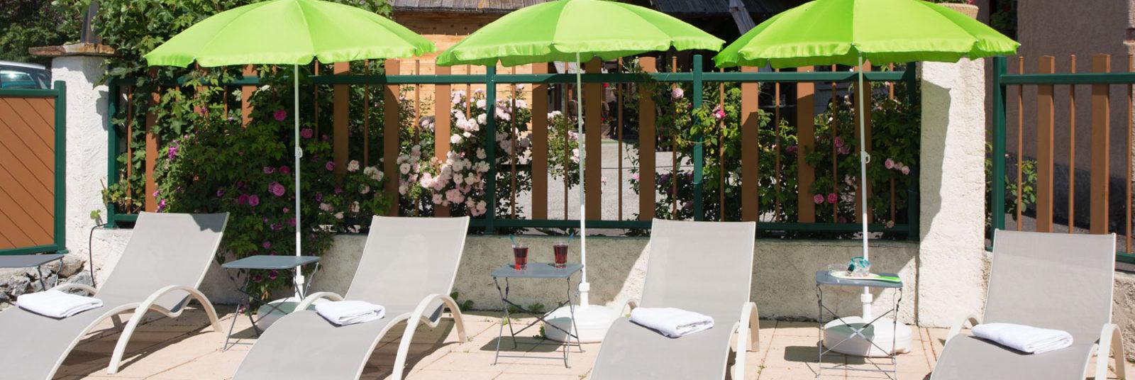 Hotel piscine spa à Puy St Vincent